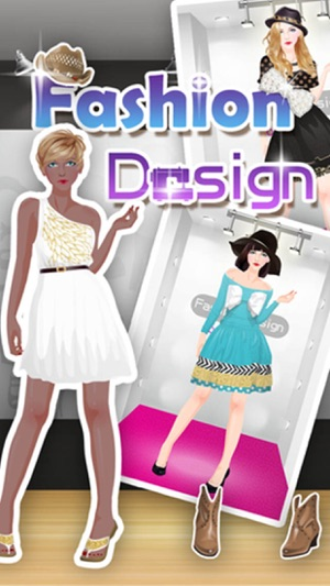 Fashion designing games dress up