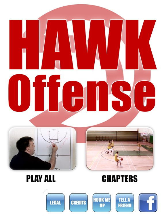 HAWK Offense: Scoring Playbook - with Coach Lason Perkins - Full Court Basketball Training Instruction - XL