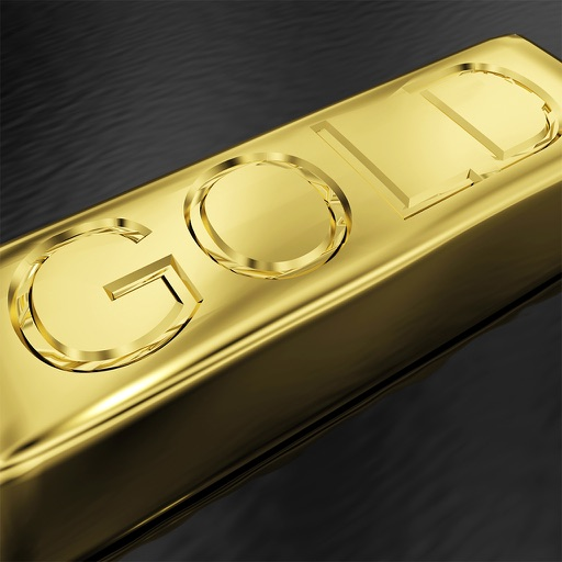 Gold fever - Unlock the gold bar iOS App