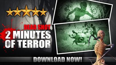 DEAD SHOT - 2 Minutes of Terror With Predator Walking Beast, The Slender Man, Zombie & Chupacabra Survival Horrorのおすすめ画像5