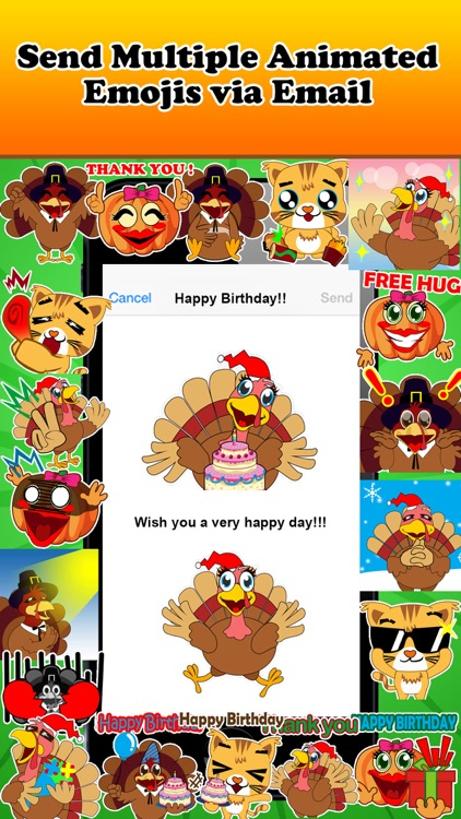 Emoji Kingdom - Christmas Turkey Emoticons screenshot-3