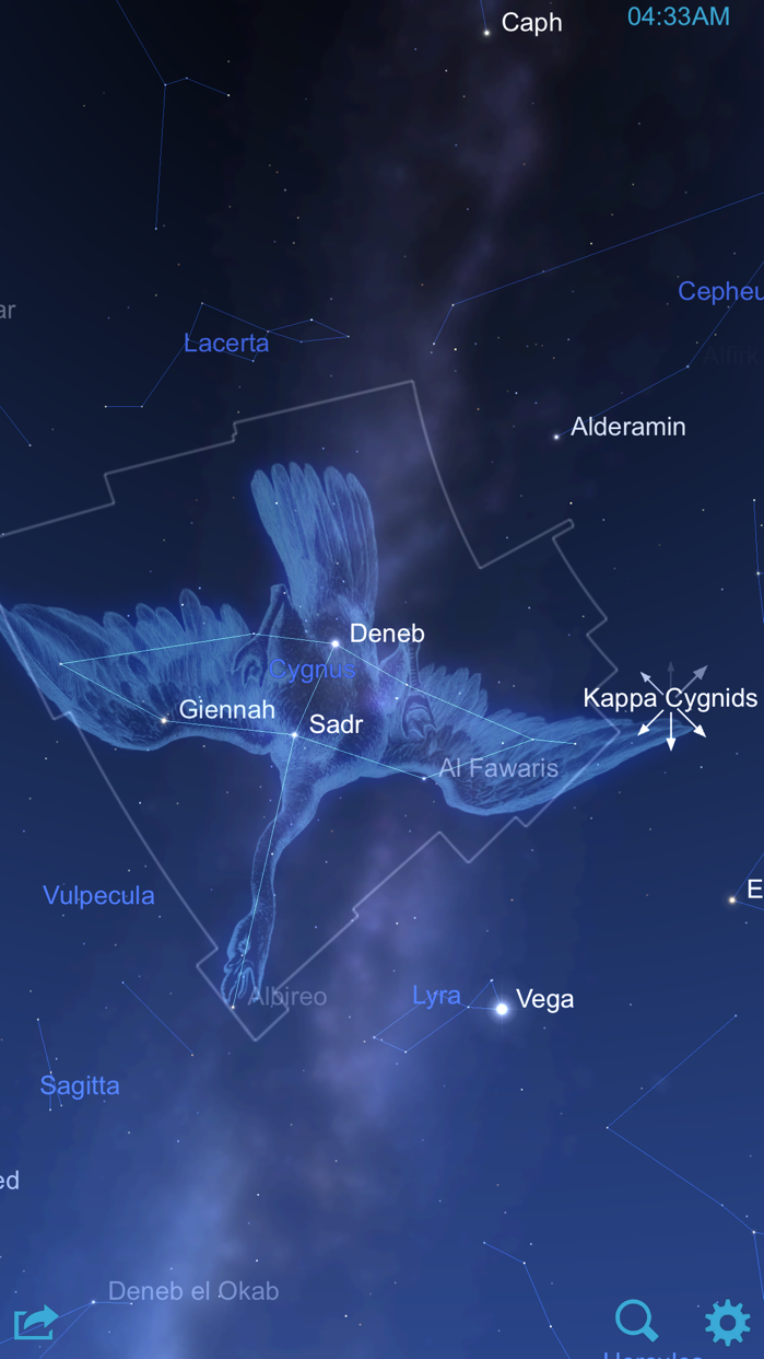 Star Chart Screenshot