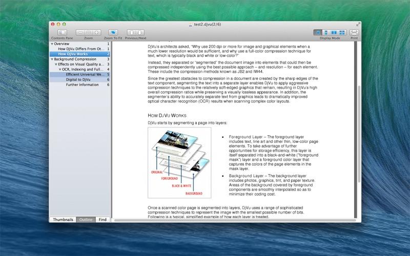 DjVu Reader Pro Screenshots