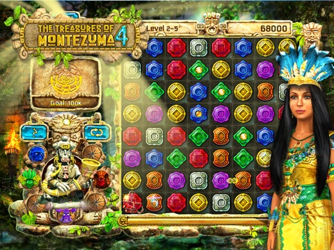 The Treasures of Montezuma 4 HD на iPad
