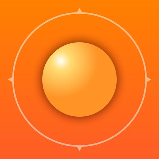 Deluxe Sun - sunrise, sunset, twilight and compass