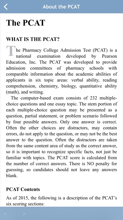 Barron's PCAT Exam Review Practice Questions screenshot-4