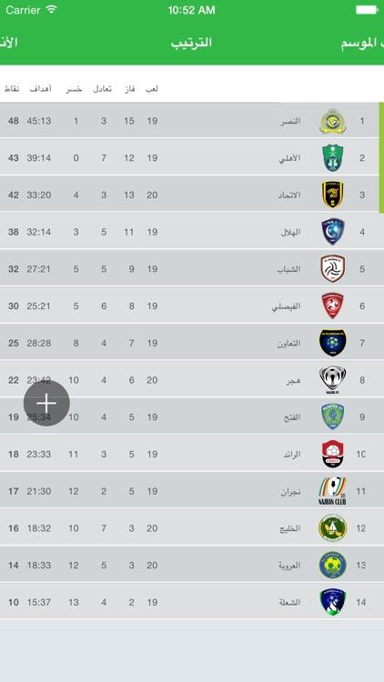 الدوري السعودي - عبد اللطيف جميل screenshot-4