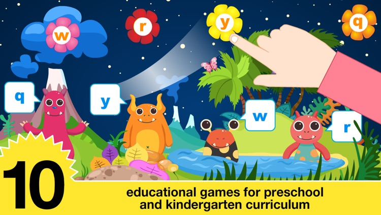 Preschool All In One Basic Skills Space Learning Adventure A to Z by Abby Monkey® Kids Clubhouse Games