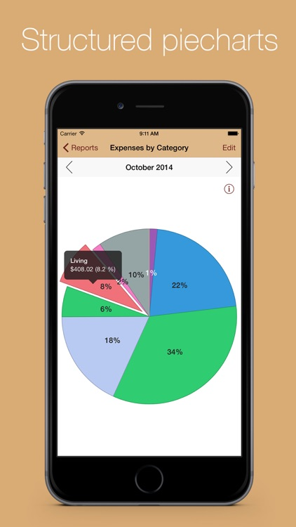 MoneyStats - Personal & mobile finance management and tracking application screenshot-4