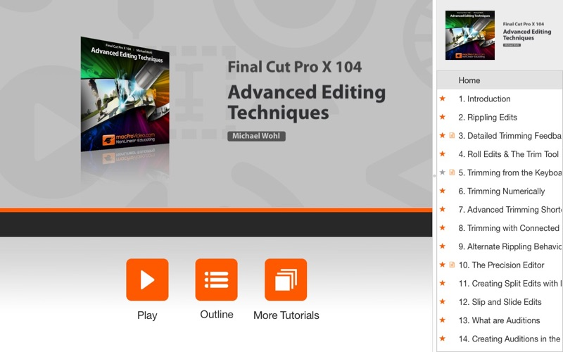 Course For Final Cut Pro X 104 - Advanced Editing Techniques | App Price  Drops