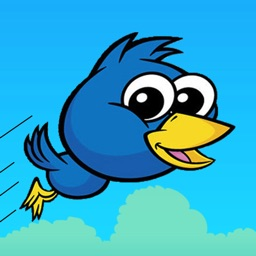 Flap Birdie Free - Blue bird back now