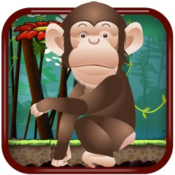 Banana Monkey Jump  - A Best Fun addictive dodge rocks jumping game experience
