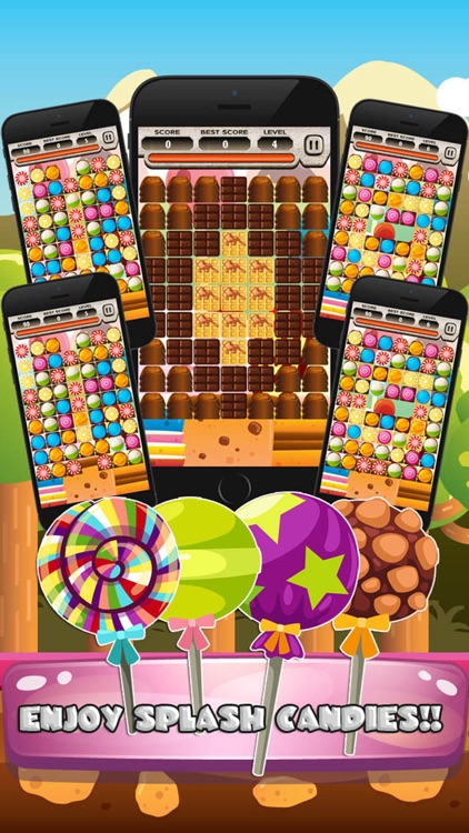 Sweet Candy Blast Legend Mania screenshot-4