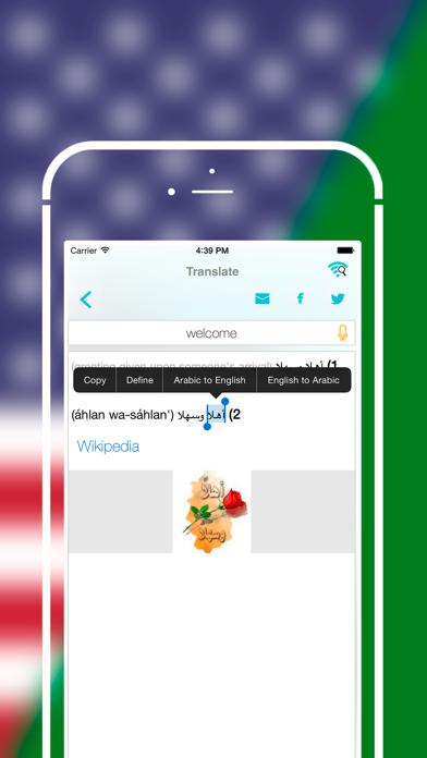 Offline Arabic to English Language DictionaryScreenshot of 3