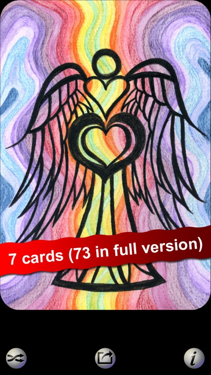 Angel Heart LITE Oracle Cards - Seraphina of Elvenstone