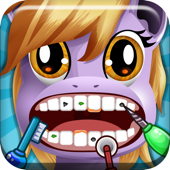 'A Little Pony Dentiste magique Tooth Doctor - Dents jeu Fixer