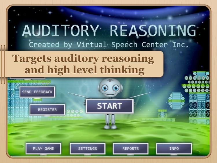 Auditory Reasoning