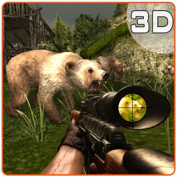 Angry Bear Hunter Simulator – Wild grizzly hunting & shooting simulation game