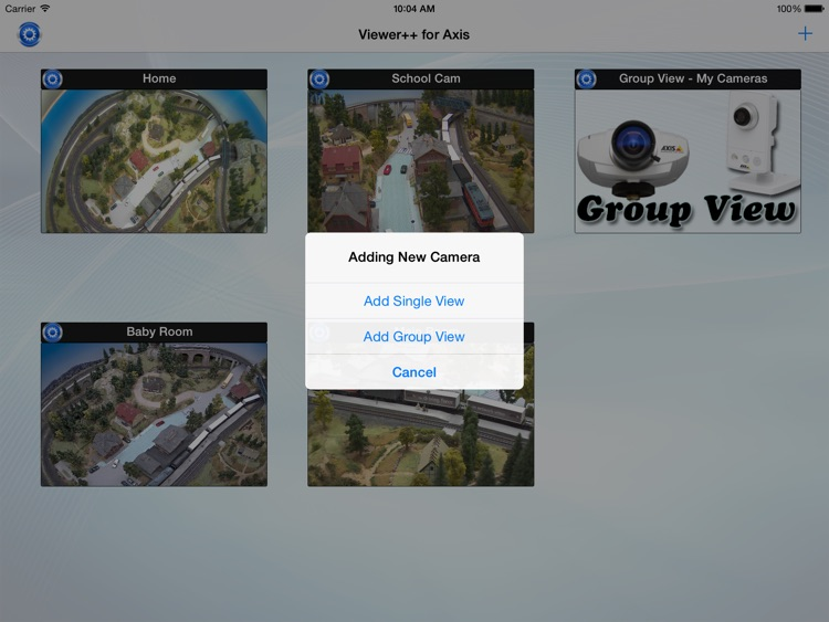 Viewer++ for Axis - iPad version