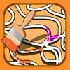 アクティブ!塗り絵の本 迷路と迷路を持つ子どものための動物の学習ゲーム - iPhoneアプリ