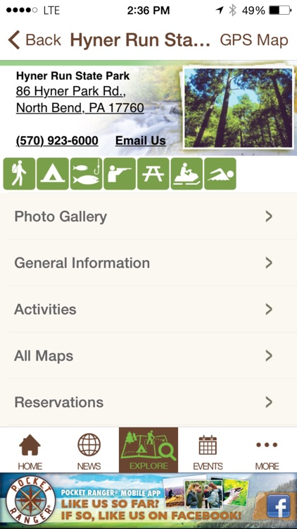 Pennsylvania State Parks & Forests Guide- Pocket Ranger® screenshot-4