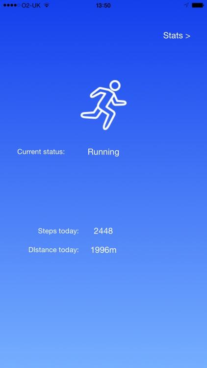 WALK - step counter pedometer, distance and activity tracker. screenshot-3