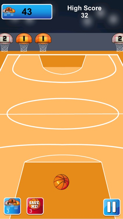 Basketball - 3 Point Hoops screenshot-3