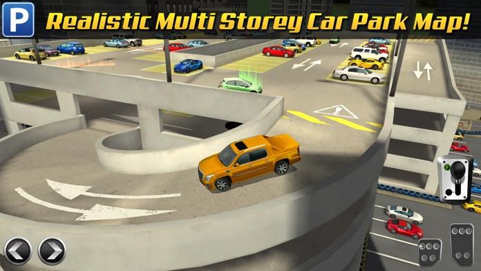 Multi Level 3 Car Parking Game Real Driving Test Run Racing Screenshot