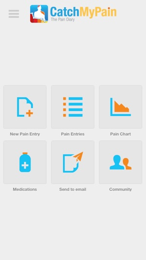 pain diary community catchmypain incl medication tracker on the
