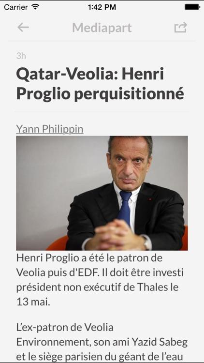 Journaux FR - Les journaux les plus importants en France screenshot-3