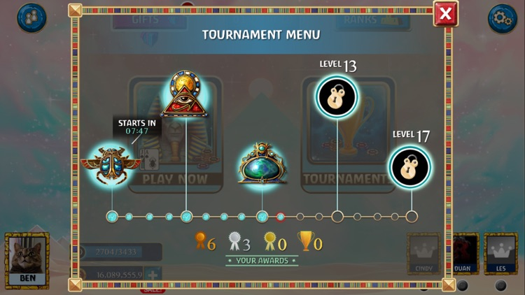 Luxor Blackjack – Free, Live Card Tournaments! screenshot-3