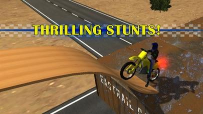 モトスタントバイクシミュレータ3D - 猛烈な高速バイクレースやジャンピングゲーム紹介画像3