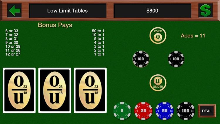 Casino Over Under