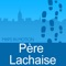 This application will guide you through the Père-Lachaise Cemetery