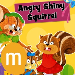 Angry Shiny Squirrel - Reading Planet series, authored by Sheetal Sharma, is a genre of imaginative fiction whose vibrant and bubbly characters discover the essence of good behaviour in a fun way