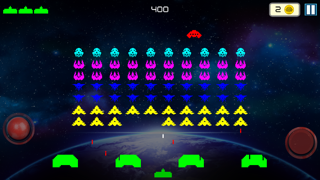 Screenshot from Galaxy Invaders - Strike Force Alien Hit