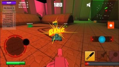Pixel Tank 3D - Multiplayer Shooter screenshot two
