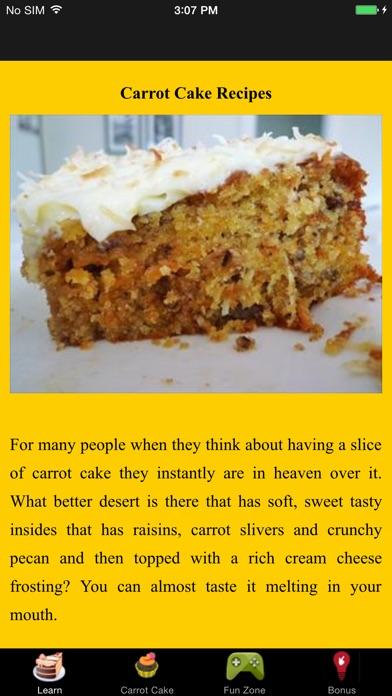 Carrot Cake Recipes App Price Drops