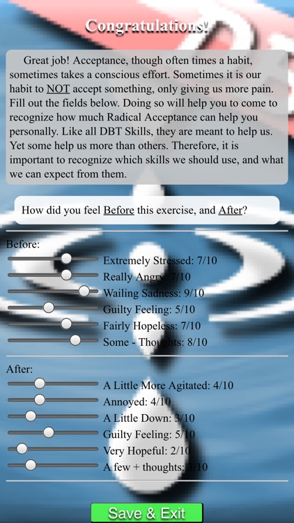DBT Distress Tolerance Tools screenshot-3