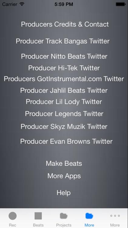ProStudio FX 2.1 - Music Recording Studio App screenshot-3