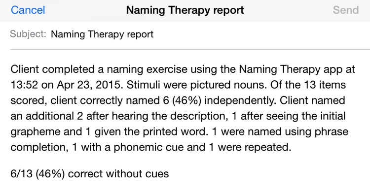 Naming Therapy – Word-Finding for Aphasia screenshot-4
