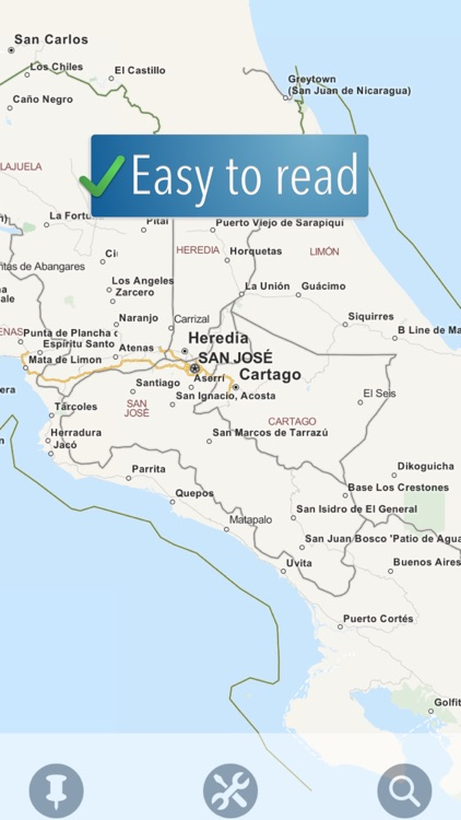 Costa Rica Travelmapp screenshot-0