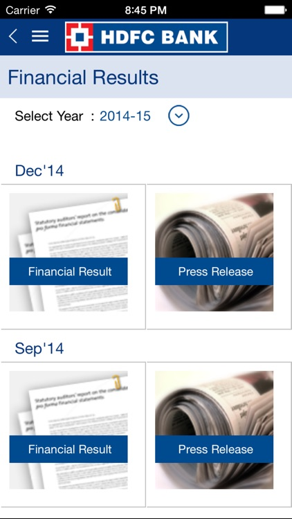HDFC Bank IR screenshot-3