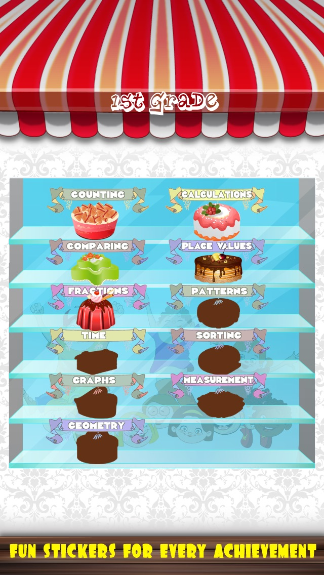 A+ Math Bakery: K,1st,2nd,3rd Grade the early learning mobile app ...