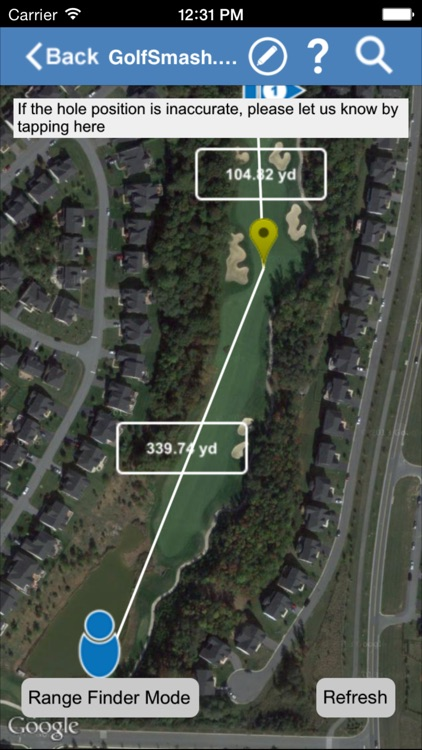 GolfSmash - Golf GPS, Ranger Finder and more!