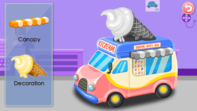 Ice Cream Truck -  Educational Puzzle Game for Kids screenshot two