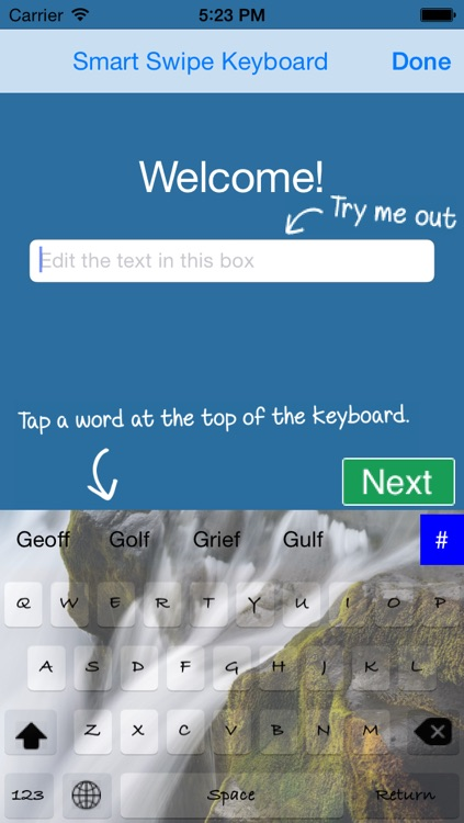 Smart Swipe Keyboard Pro for iOS8