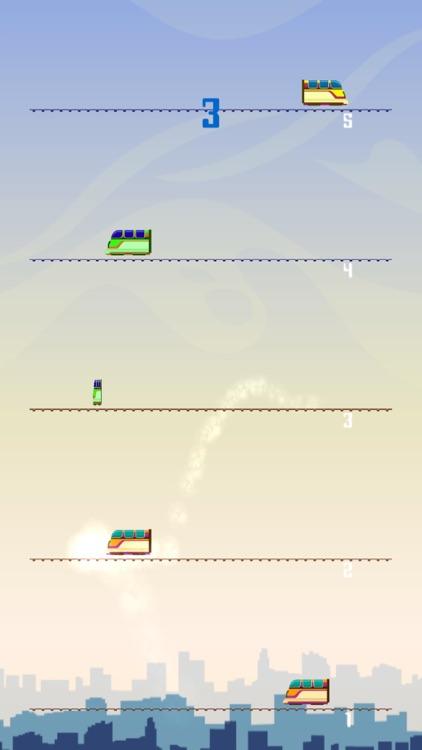 Train Jump - Sim The Trainz Car 15 Driver screenshot-4