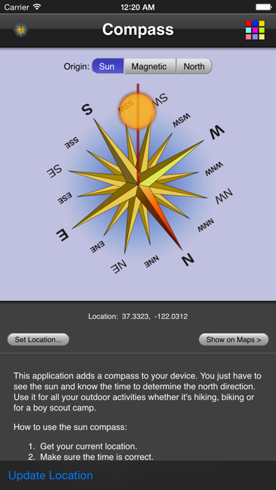 Compass screenshot three