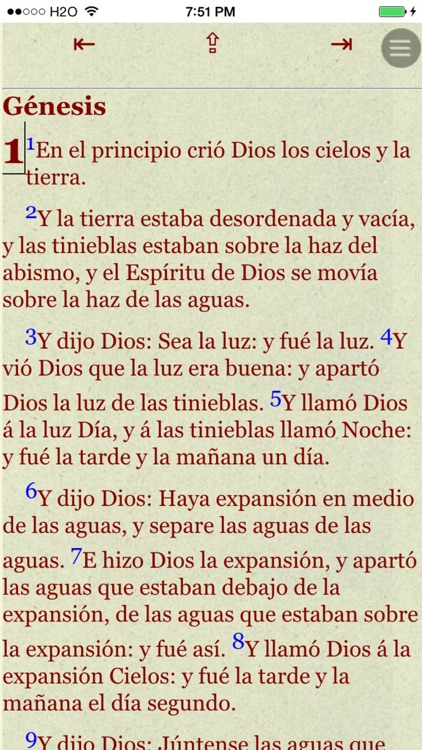 La Biblia Reina Valera (Spanish Bible) screenshot-1